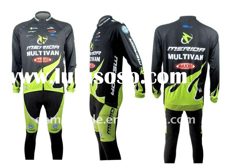Merida cycling wear sets cutsom desings bike wear bicycle jersey