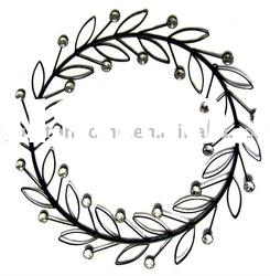 Merry Christmas Wreath Card Holder Wall Decoration