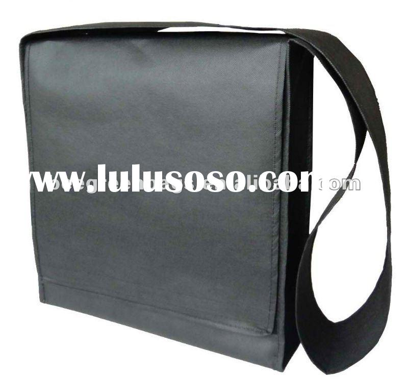 Promotional Non woven cheap messenger bag