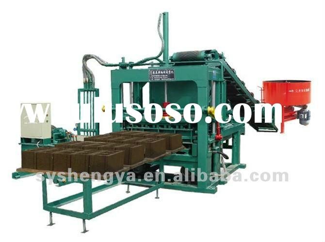 QT5-20 semi-automatic used brick making machine for sale