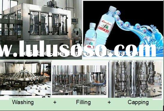 Small Scale Plastic Bottle Drink Water Filling Plant