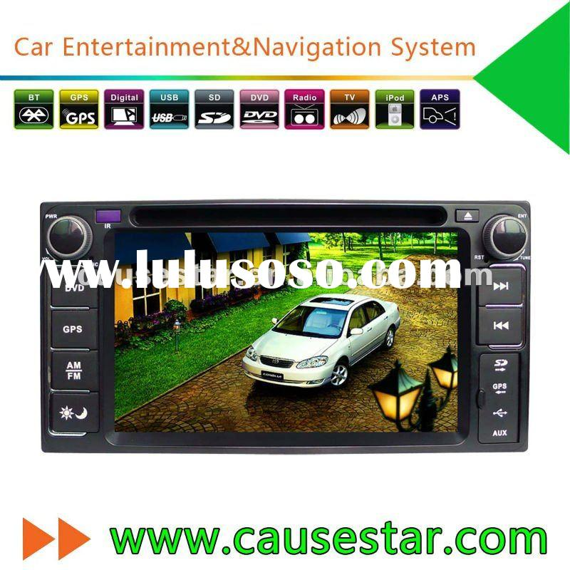 Special in dash Toyota Prado Car Radio with dvd player,gps navigation system,audio,car stereo