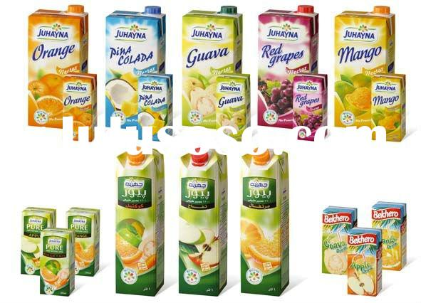 TETRA ASEPTIC BRICK PACKAGING MATERIAL FOR JUICES & UHT MILK