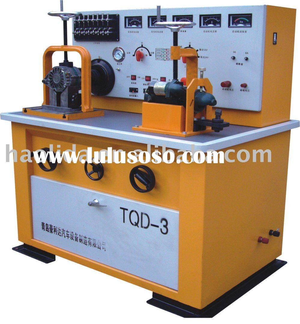 Bench Testing A Starter Motor: Auto Electrical Equipment Test Bench, Test Generator