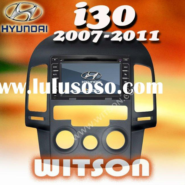 WITSON for hyundai i30 double din car dvd player