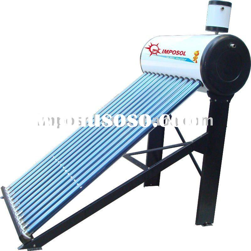 best sell solar water heater with header tank
