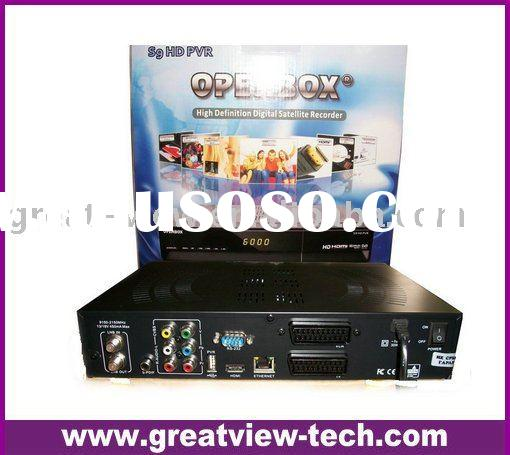 best seller high definition satellite receiver Openbox s9 PVR HD dvb-s2 set top box digital satellit