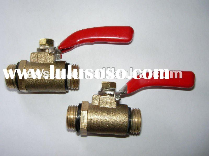 brass gas ball valve/water valve with DVGW certificate