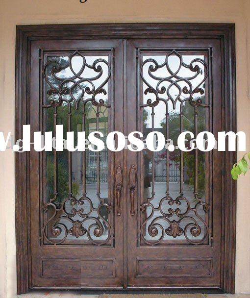 Forged Iron Doors : Forged iron door zy id for sale price china