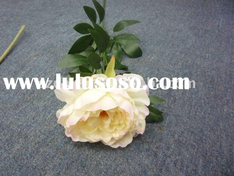 factory price -- artificial silk flower spray-CLOSEOUT Silk Flower Arrangement ,Sold at home and abr