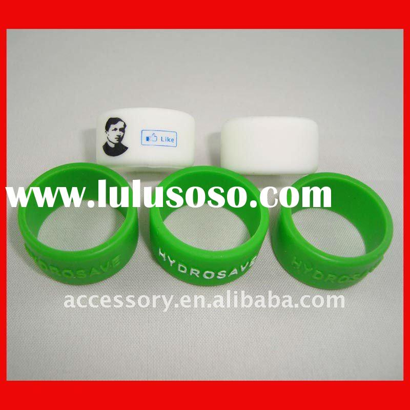 fashion custom design silicone ring for wholesale
