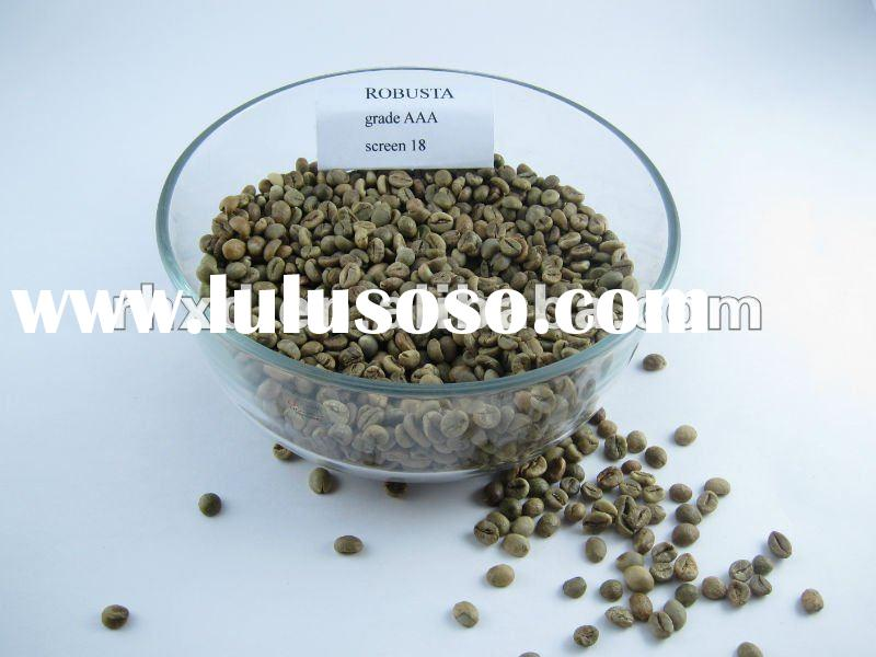 green coffee beans with competitive price