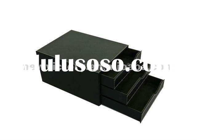 multilayer Leather storage box