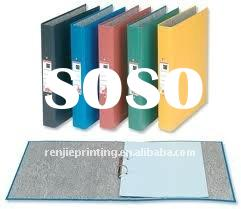 paper ring binder from 18 years printing factory