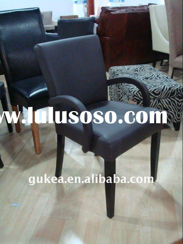 small size modern style leather restaurant armchair