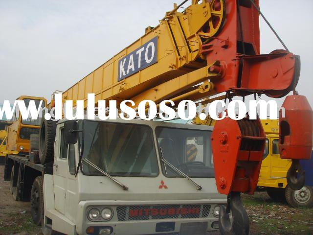 used truck crane Japan original Kato mobile crane 100ton NK1000 in good working condition