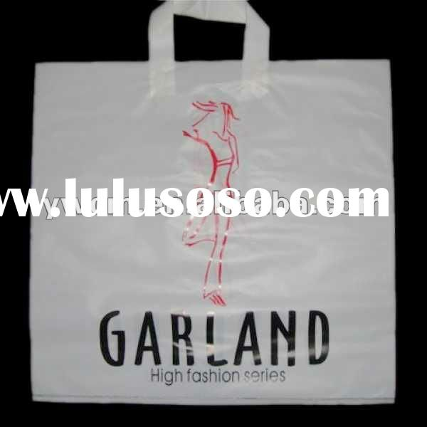 white pe hd plastic bags for garment