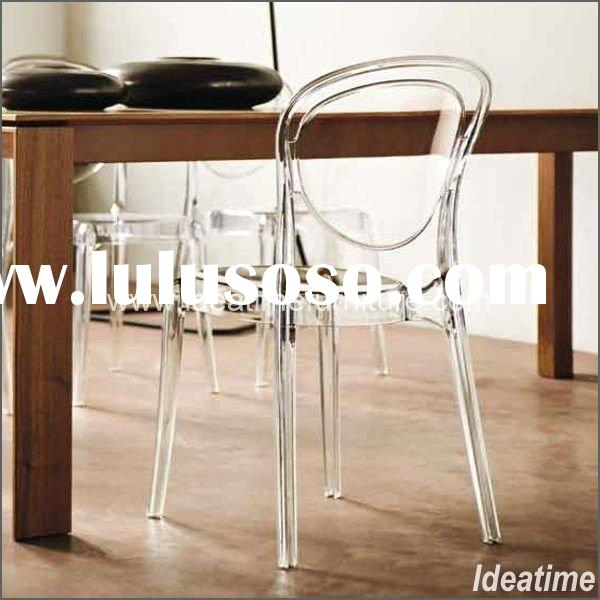 01 Modern Clear Plastic Dining Chair (CM-361)