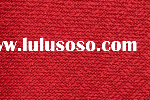 100% polyester FDY jacquard fabric PVC coated fire retardant for curtain