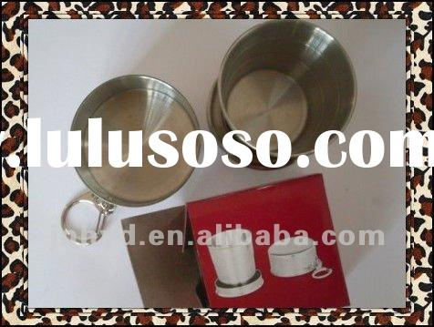 180ml Stainless steel folding cup with 3 sections