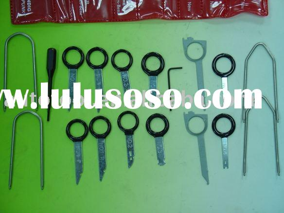 18pc Radio Removal Tool Kit (Made of Stainless Steel)