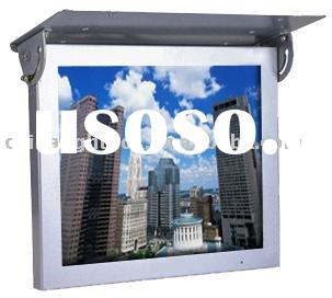 19 inch Bus LCD Player, TV monitor for car, Bus LCD Advertising Display
