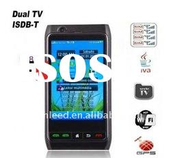 2011 latest 4 sim GPS wifi TV Mobile Phone FN8