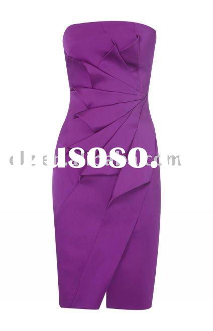 2011 new fashion office party dress designer dress DJ194 Top Quality