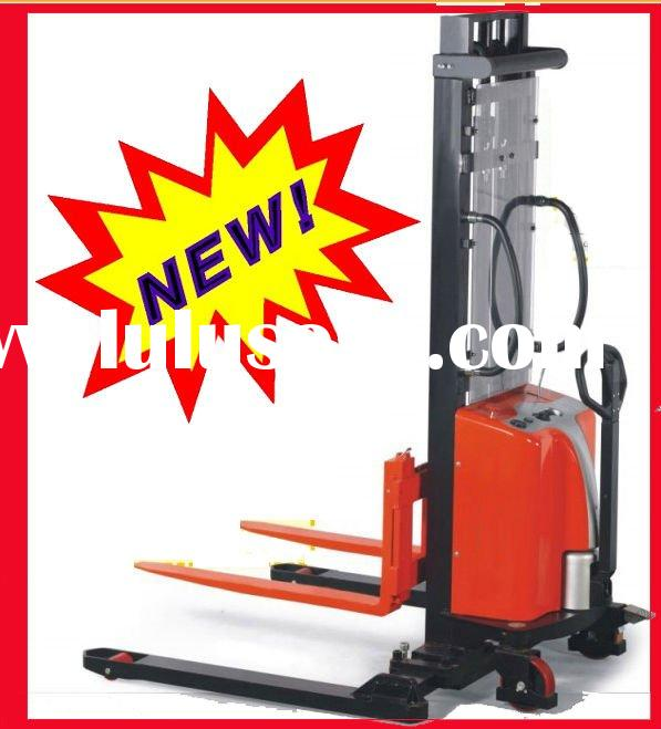 2011 new type semi electric forklift, 1~2.5T capacity 3.5m lifting height high quality battery stack