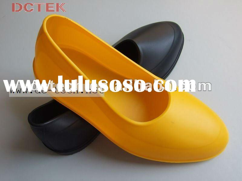 2012 Fashion galoshes rubber rain shoes