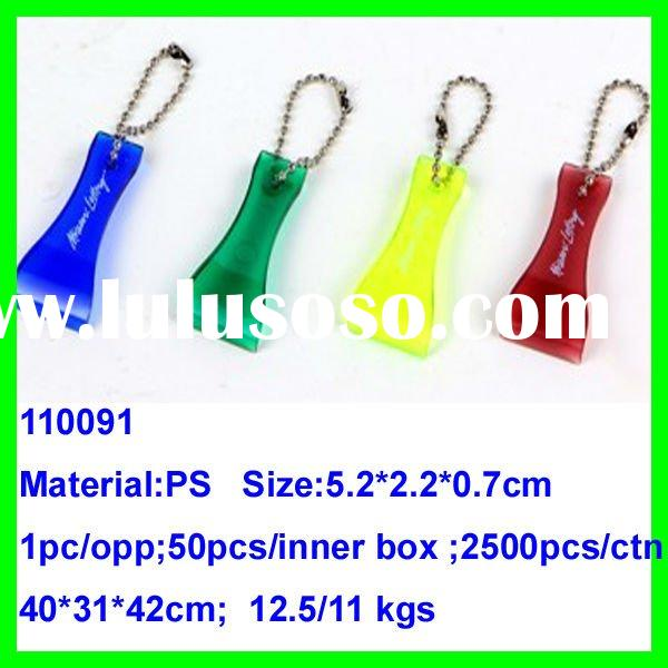 2012 Hot Sell Low price Plastic Promotional Keychain Lottery Scraper