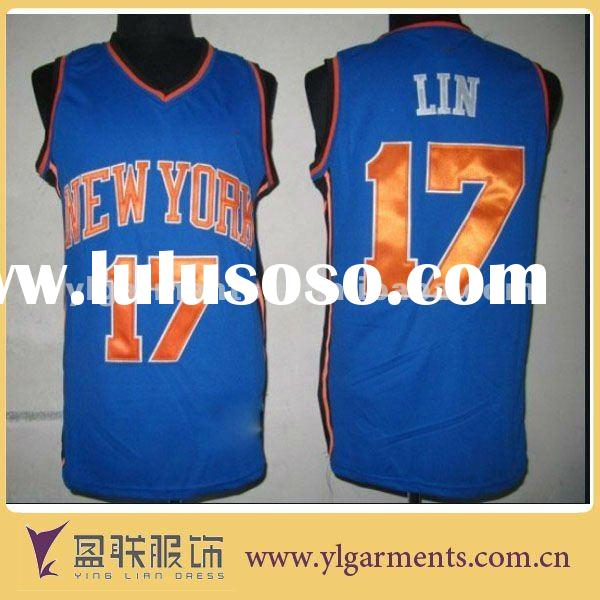 2012 Hot Selling latest basketball jersey design
