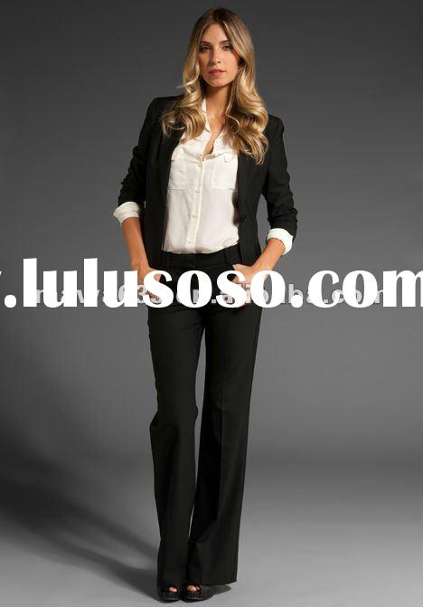 2012 Newest top fashion Tailor ladies office wear