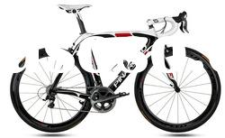 2012 Pinarello Dogma2 60.1 W4 carbon road bike frame and fork white/red/black color full size