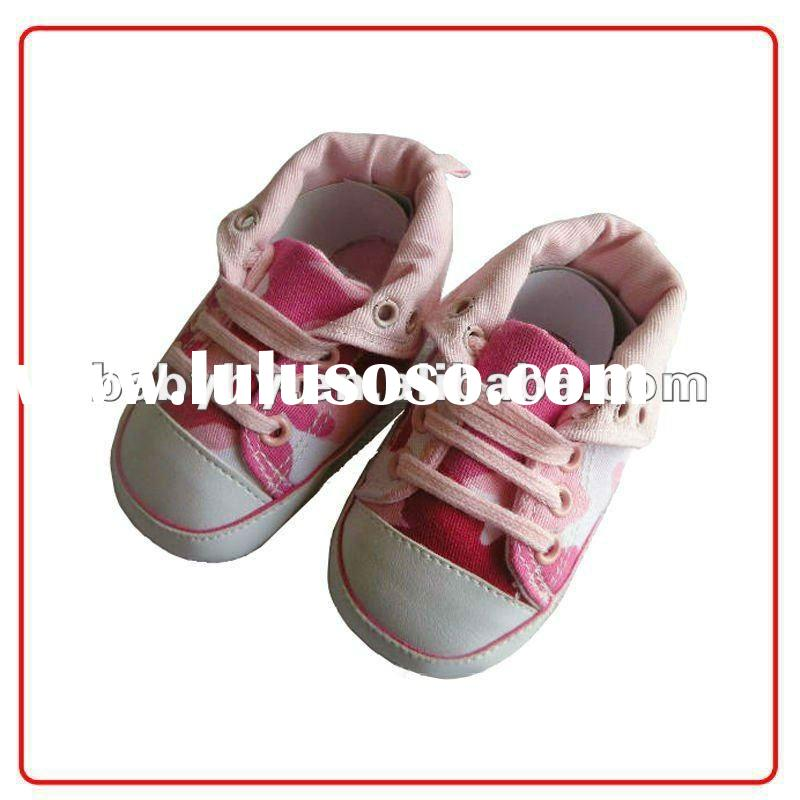 2012 beautiful & lovely high quality mix color baby girls pre-walker shoes pattern BH-S048E