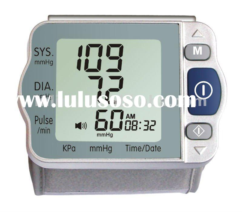 2012 wrist type digital blood pressure meter