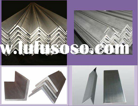 304 stainless steel,hot rolled and pickled ,equal and unequal stainless steel angle bar,factory sale