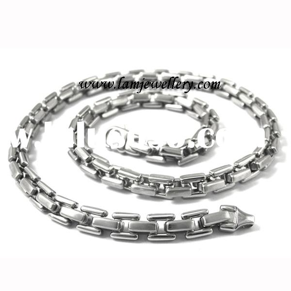 316L stainless steel necklace, Men's necklace