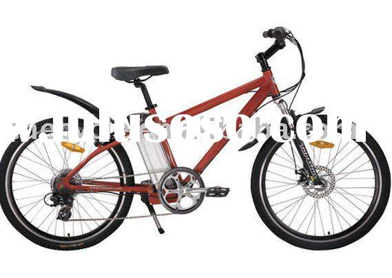 350W brushless motor mountain electric bike