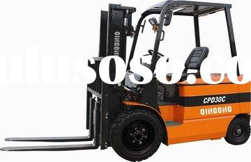 3Ton Stack Palleting Machine CPD30C Battery Electric Forklift Truck