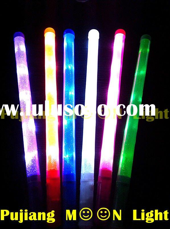 5 bulbs single color led flashing light up party wand novelty toy