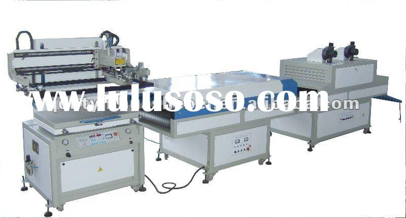 Automatic Pneumatic screen printing Machine,screen printing line