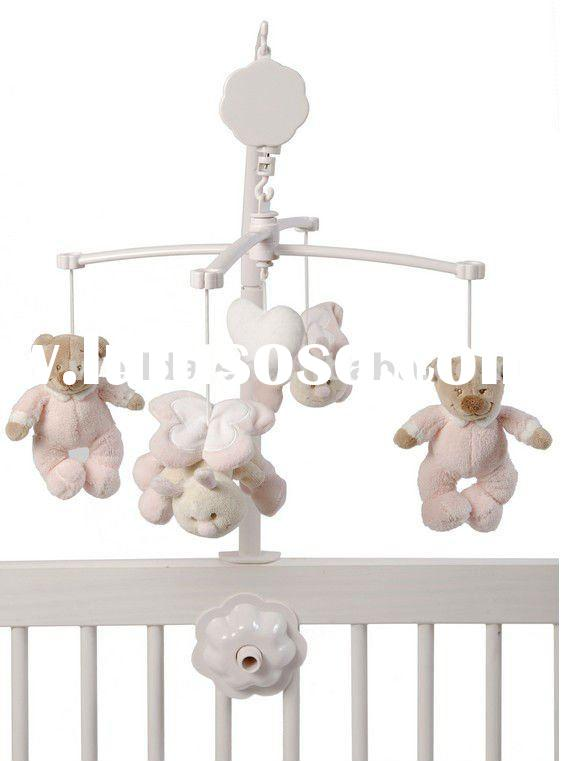 baby musical hanging toys baby crib mobile baby mobile decorative baby nursery crib mobile. Black Bedroom Furniture Sets. Home Design Ideas
