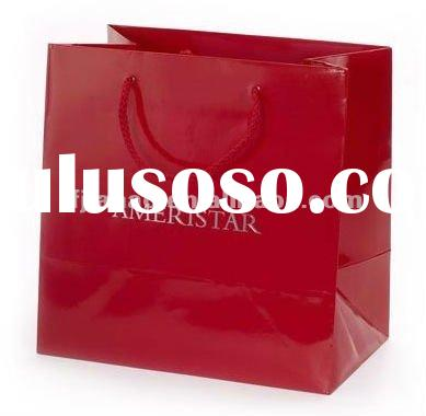 Best quality customized paper shopping bag for gift or clothes