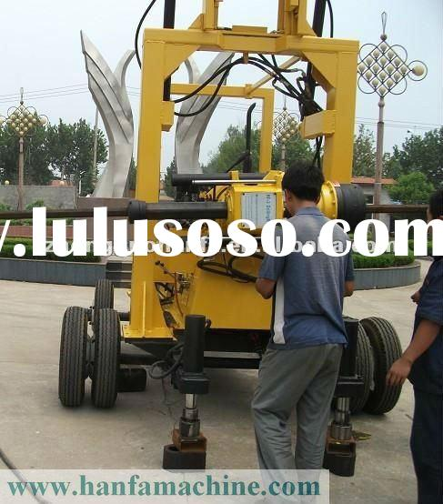 Best-selling Model in Africa! HF-3 Trailer Water Borehole Drill Machine