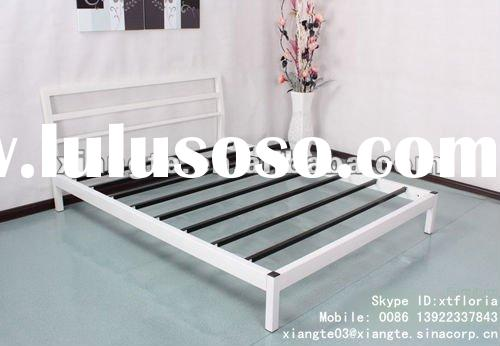 Black&White Series BS-F-13 modern simple design double metal bed