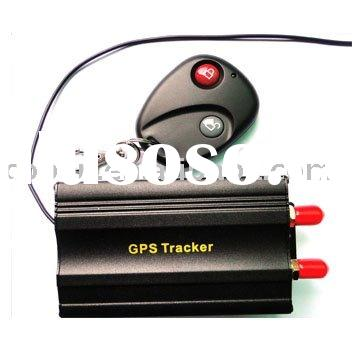 Car GPS Tracking with Remote Control for Circuit and Oil