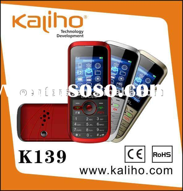 Cheap dual sim mobile phone with camera and torch