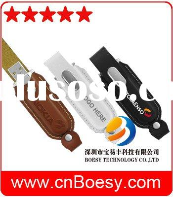 China factory saddle leather USB flash drive, saddle usb pen drive.handy and easy to carry, differen