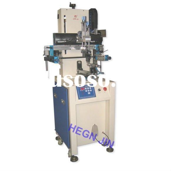 Cylindrical automatic bottle and cup silk screen printing machine